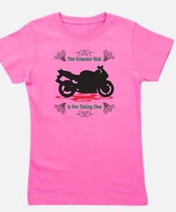 Taking A Risk Girl's Tee