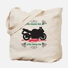 Taking A Risk Tote Bag