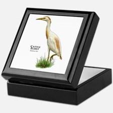 Cattle Egret Keepsake Box