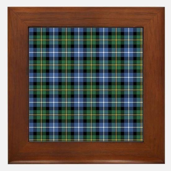 Tartan - MacNeil Framed Tile