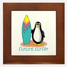 Future Surfer Framed Tile