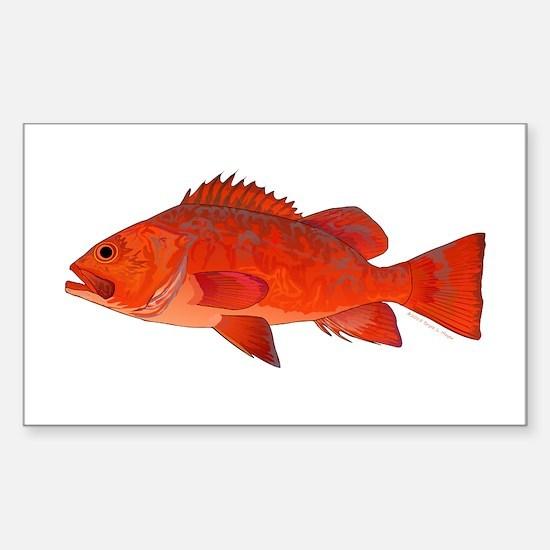 Vermilion Rockfish v2 Decal
