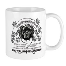 Crazy Newfoundland Lady Mug