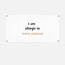 CUSTOM ALLERGY Banner