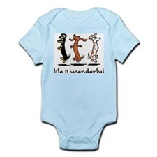 Cute Weiner dog Infant Bodysuit