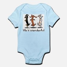 Unique Doxie Infant Bodysuit