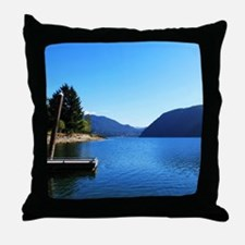 Olympic National Park. Landscape phot Throw Pillow