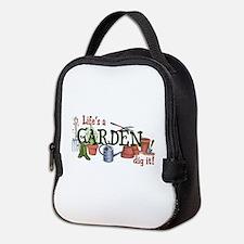 Life's A Garden Dig It! Neoprene Lunch Bag