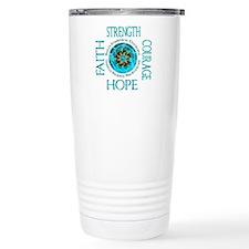 CRPS RSD Faith Courage Travel Coffee Mug