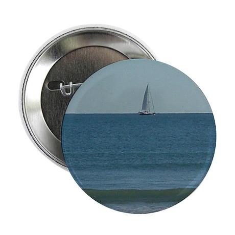 "Karla Nolan's Sailboat 2.25"" Button (10 pack)"