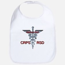 CRPS / RSD Medical Alert Asclepius Caduceus Bib