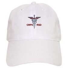 CRPS / RSD Medical Alert Asclepius Caduceus Baseball Cap