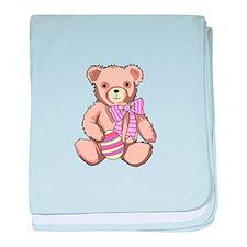 Easter Teddy Bear baby blanket