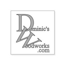 Dominic's Woodworks Logo - Sticker