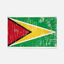 Vintage Guyana Rectangle Magnet