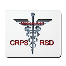 CRPS / RSD Medical Alert Asclepius Caduc Mousepad