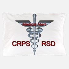 CRPS / RSD Medical Alert Asclepius Cad Pillow Case