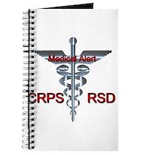 CRPS / RSD Medical Alert Asclepius Caduceu Journal