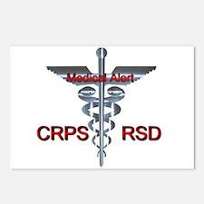 CRPS / RSD Medical Alert Postcards (Package of 8)