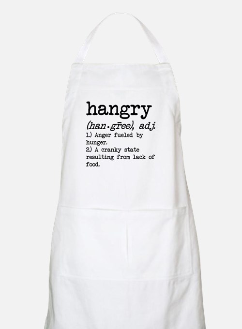 Hangry: Defined Apron