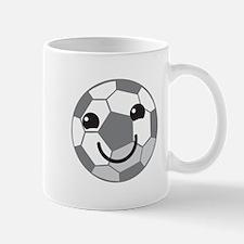 Cute kawaii soccer ball Mugs