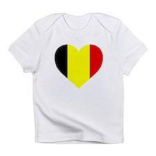 Belgium Heart Infant T-Shirt