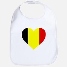 Belgium Heart Bib