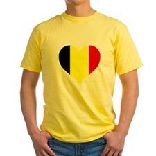 Belgium Heart T-Shirt