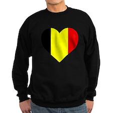 Belgium Heart Sweatshirt