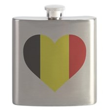 Belgium Heart Flask