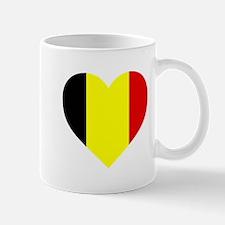 Belgium Heart Mugs