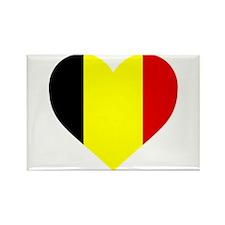 Belgium Heart Magnets