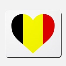 Belgium Heart Mousepad