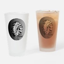 Rise Up - Be A Warrior Drinking Glass