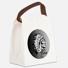 Rise Up - Be A Warrior Canvas Lunch Bag