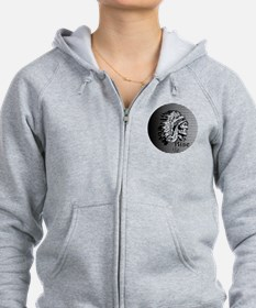 Rise Up - Be A Warrior Zip Hoodie