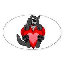 Howlentine's Day Decal