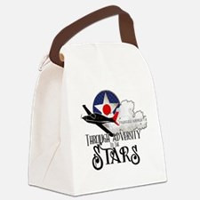 Red Tails Canvas Lunch Bag