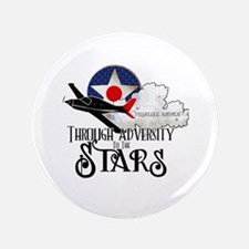 """Red Tails 3.5"""" Button"""