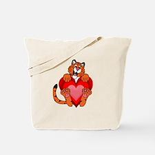 Roaralentines Day Tote Bag
