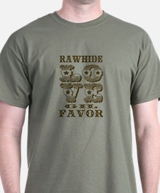 Brown Rawhide Love Gil T-Shirt