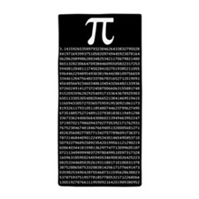 Pi to 1000 Places Beach Towel