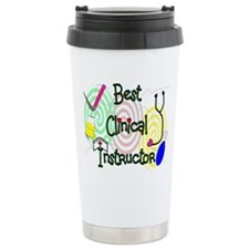 Funny Nurse instructor Travel Mug
