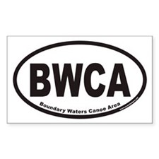 Cute Boundary waters Decal