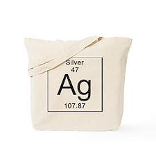 47. Silver Tote Bag