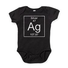 47. Silver Baby Bodysuit