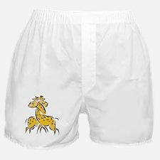 Giraffes In Love Boxer Shorts