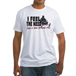 Two Stroke Fix Fitted T-Shirt