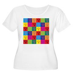 Pop Art Giraffes T-Shirt