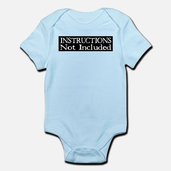 Not Included Infant Bodysuit